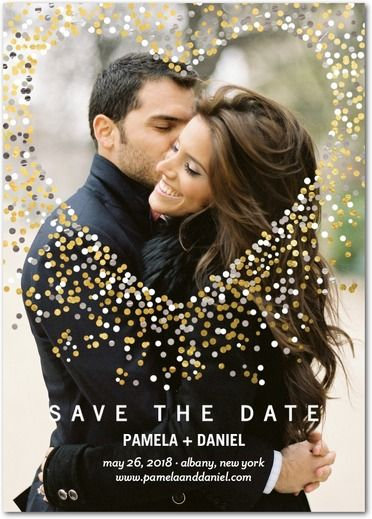Save the Date with Unique Save the Dates & Invitations | Wedding Paper Divas