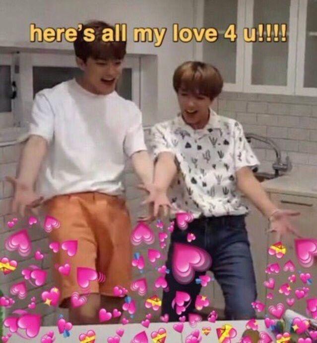 Lovely Jaeyong Texting Ff In 2021 Cute Love Memes Cute Memes Funny Kpop Memes