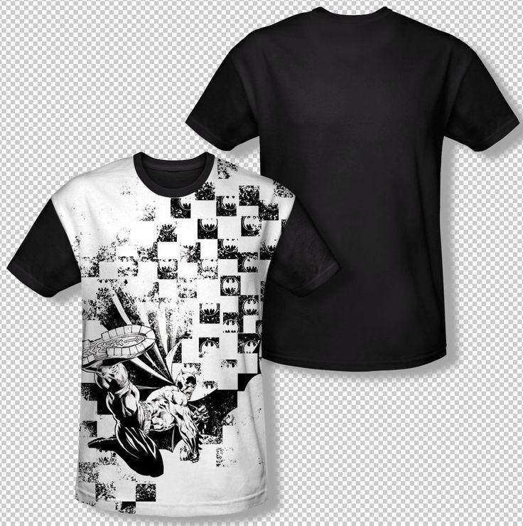 Batman Boxed Logo Checkered Box Collage All Over Front Sublimation T-shirt Top Available In Sizes:Small, Medium, Large, XL, 2XL, 3XL #Batman #BruceWayne #TheDarkKnight #DCComics #JLA #TheCapedCrusader #BatLogo #BatSymbol #BatSignal #JusticeLeague #BatmanTshirt