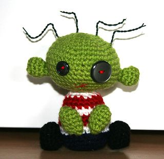Ugly Kid Amigurumi - Free Pattern - PDF Download