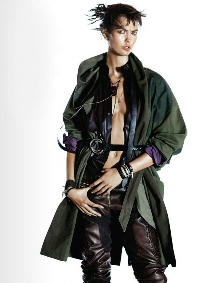 Karlie Kloss by David Sims for Vogue Paris October 2014
