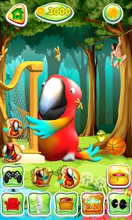 Meet the friendly talking virtual bird and download FREE Talking Parrot here https://play.google.com/store/apps/details?id=com.plaftalkinggames.talkingparrot #gamedev #indiegame #indiedev #gamesforkids #talkinggames #talkinganimal #virtualpet #virtualfriend #TalkingParrot #followback #followforfollow