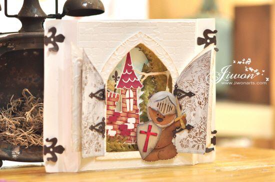 Jiwon Crafts Blog: Defend your castle