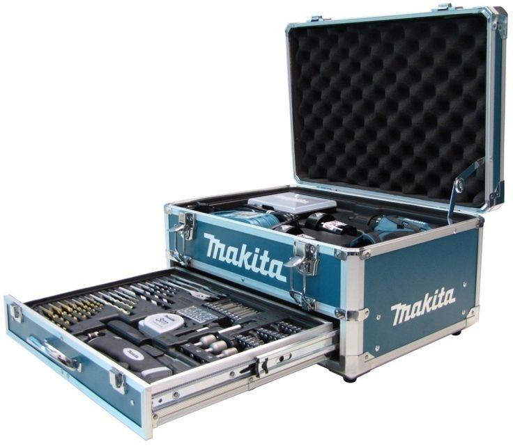 """Kit Furadeira e Parafusadeira Bateria 3/8"""" 110V 10,8V Íon Lítio c/ Acessórios, 2 Baterias e Maleta Alumínio - Furadeira e Parafusadeira - Fe..."""