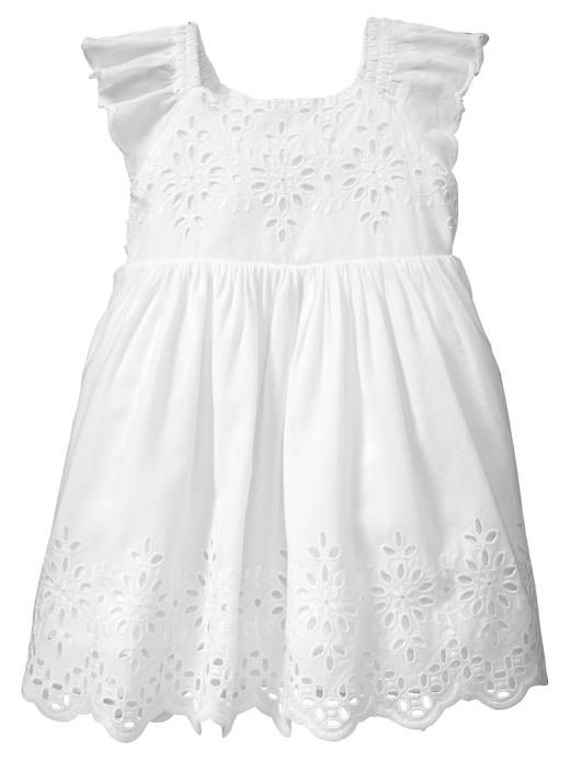 New: Peter Rabbit Collection at Gap. White eyelet dress Clueless