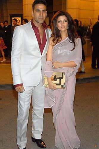 Bollywood Couples : Akshay Kumar n Twinkle.