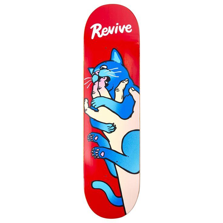 ReVive Cat VS Hand Skateboard Deck | Skateboard Decks | Cheap Skateboard Decks Online | Skate Shop | Skatehut