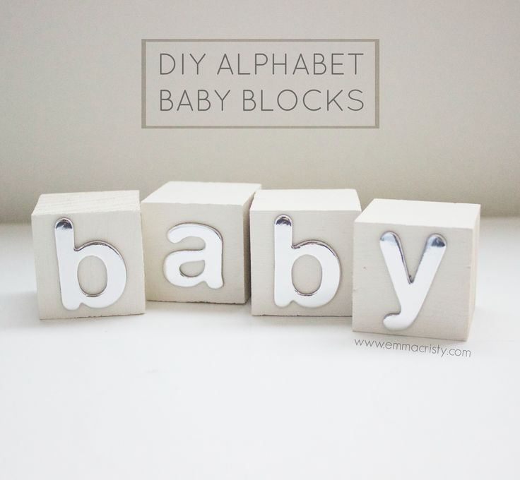 17 best images about baby shower alphabet blocks on for Alphabet blocks cake decoration