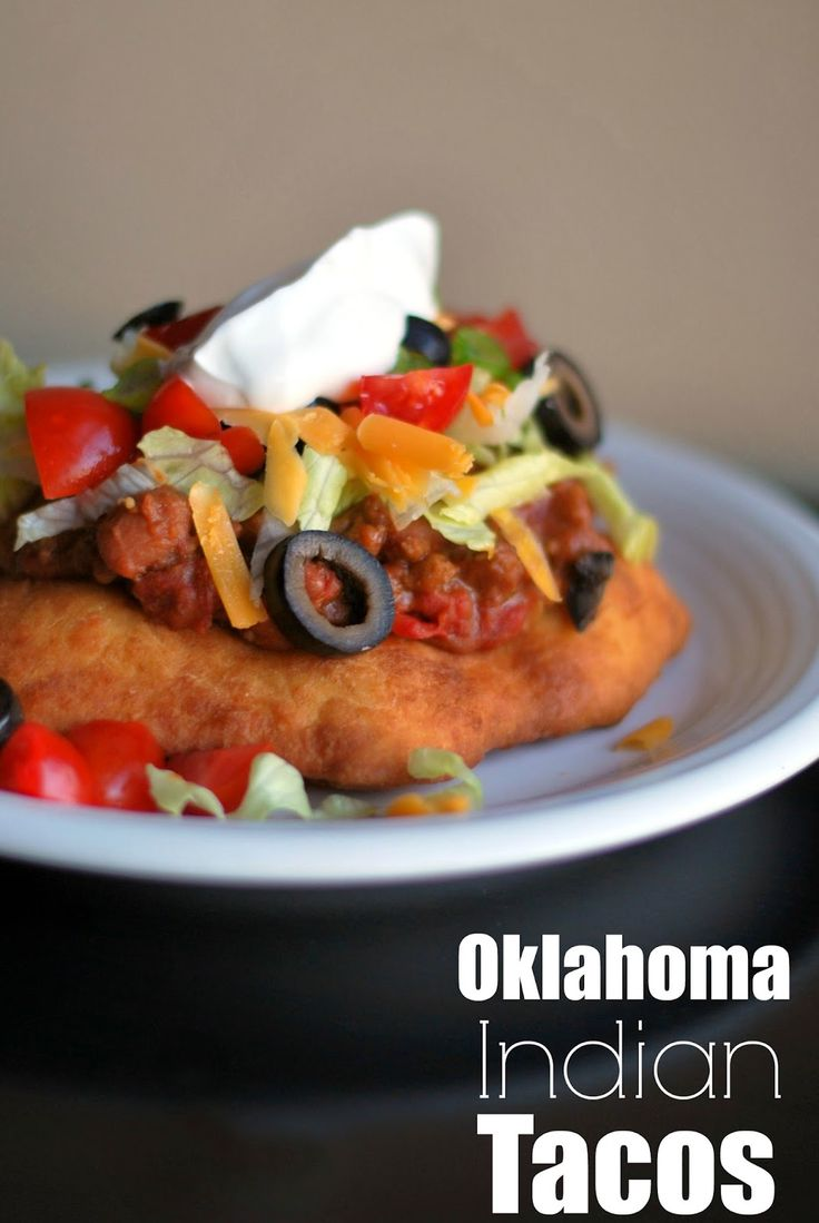 Oklahoma Indian Tacos | Aunt Bee's Recipes