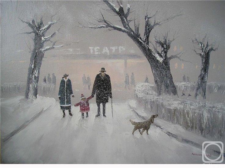 Репников Андрей. ПРОГУЛКА С ДЕДУШКОЙ.