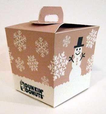 Dunkin Donuts Packaging by ~mandiex on deviantART