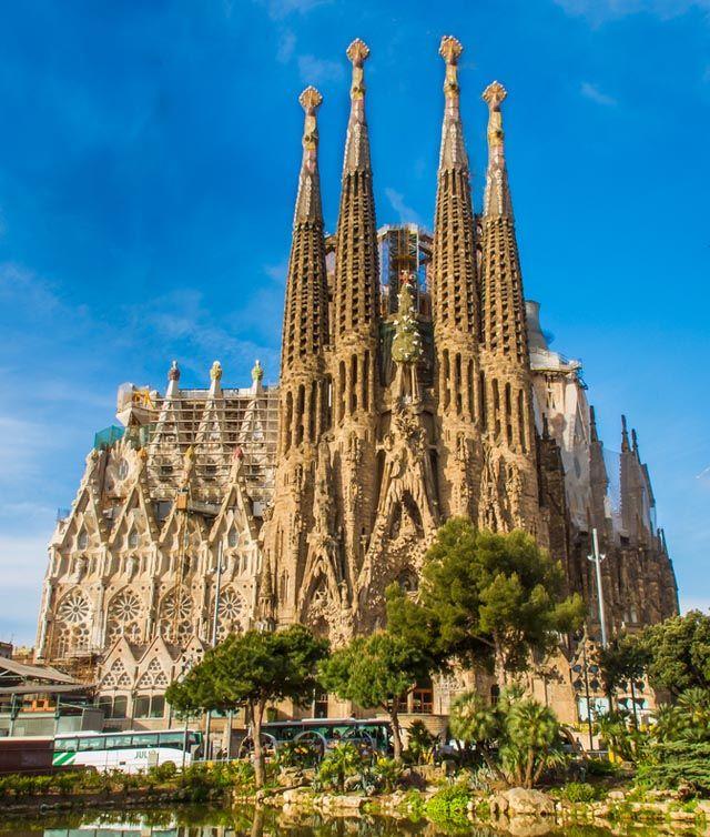 La sagrada fam lia gaud home catalunya pinterest for Kathedrale barcelona gaudi