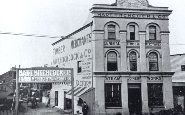 Hart, Hitchcock and Co. Timber Merchants, Darcy Street, Parramatta
