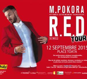 Concert de M. Pokora le 12 septembre à Tahiti