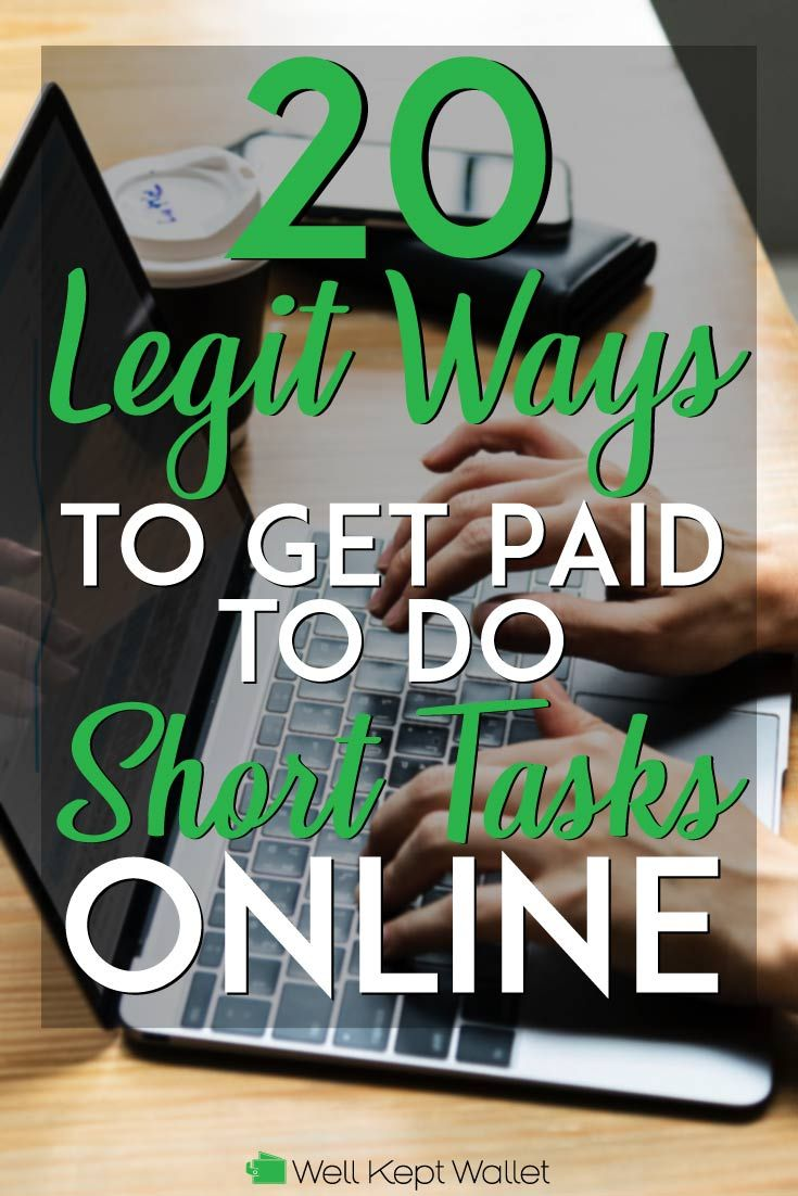 20 Legit Ways to Get Paid to Do Short Tasks Online   $aving