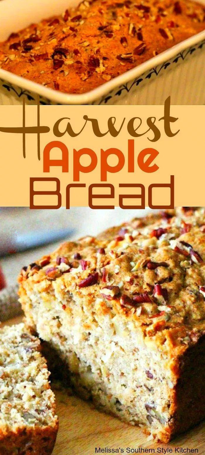 Harvest Apple Bread #apples #apple #applebread #ha…