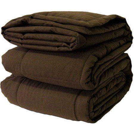 Canopy Microfiber Blanket, Brown