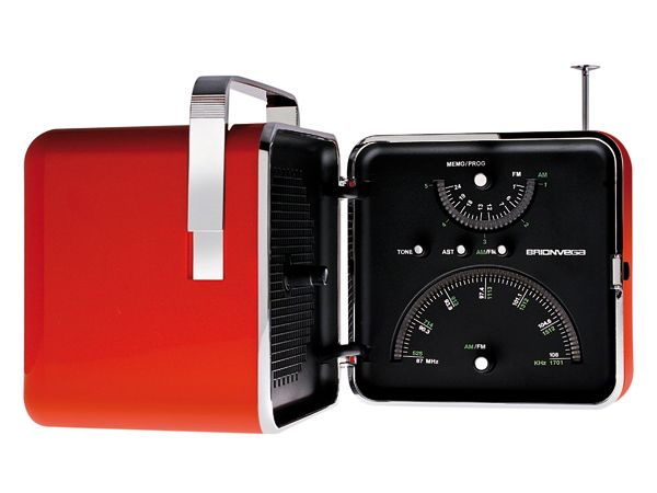 """Radio Brionvega TS502 """"CUBO"""" Design Zanuso-Sapper anno 1964"""