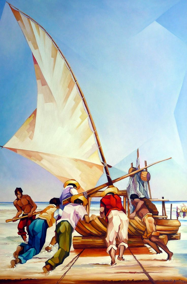 Damiao Martins: Jangadeiros ao mar. Mais
