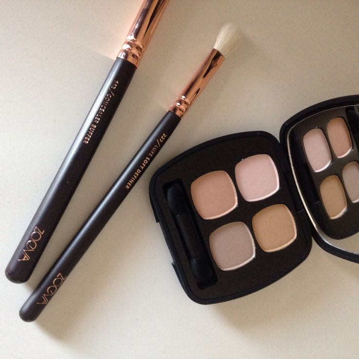 Bare Minerals Eyeshadow Quad – The Comfort Zone   Mineral