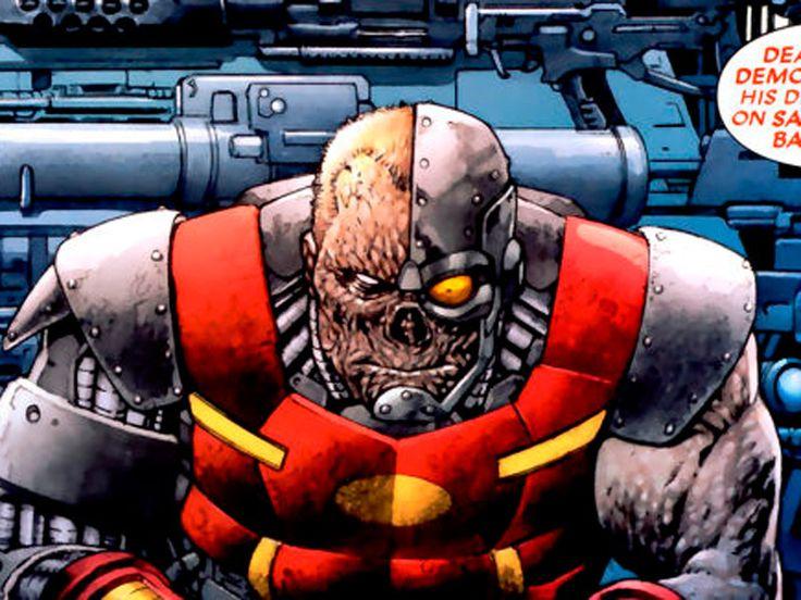 Varios robots. Deathlok de Marvel Comics, Robotman de Doom Patrol, Vic Stone/Cyborg de los Teen Titans... La lista es interminable. Pero ojo, que La Visión de Los Vengadores sí puede hacerlo.