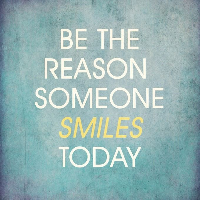 Be the reason someone smiles today. #smile #joy #bethereason #lifepurpose #purposeoflife #livethelifeyoulove #inspiration #frequency #higherfrequency #love  #powerthoughtsmeditationclub