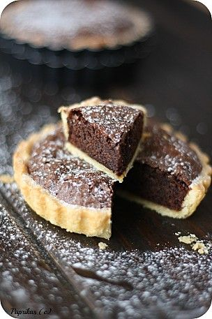 Tartelettes Brownie. Need to find an English version though