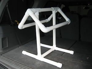 PVC Saddle Rack