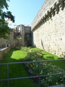 Kids will love walking the ramparts