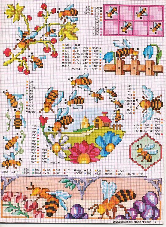 Gallery.ru / Фото #74 - ENCICLOPEDIA ITALIANA - KIM-2 bees