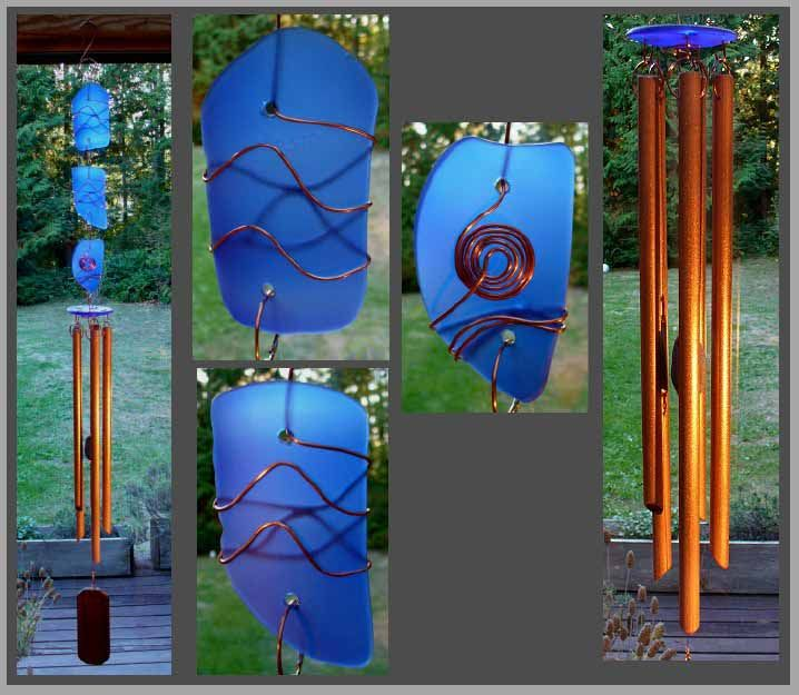 Wind Chimes - beauty on so many levels: Top Windchimes, Craft, Mobiles Windchimes, Windchimes Suncatchers, Eclectic Windchimes, Glass Windchimes, Wind Chimes, Unique Windchimes, Suncatchers Windchimes