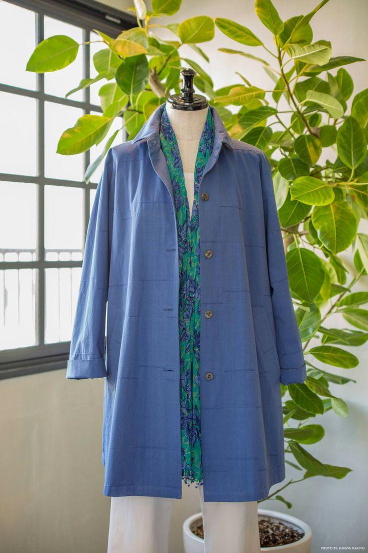 GRAPE Motomachi / Cord Jacket #jacket #blue #cord #cotton #grapemotomachi