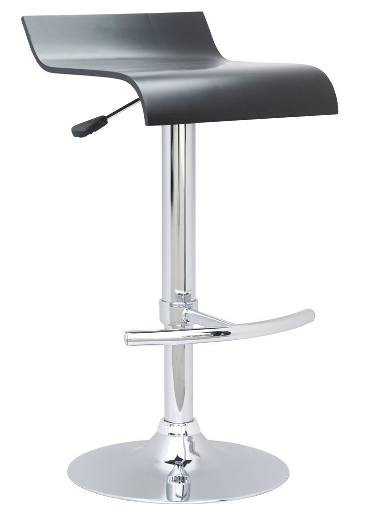 Arena Bar Stools Recliner  Comprising plywood with real wood veneer seats, these Arena bar stools are the perfect pitch from which to sit back and admire your hard work. Like the Torino, thanks to the integral gas lift mechanism, they're height adjustable, and similarly feature a heavyweight, co-ordinating, chrome base.  Available in: white finish, real Oak veneer, black finish or real Walnut veneer. Dimensions: W385mm x D425mm x H660mm extending up to 870mm