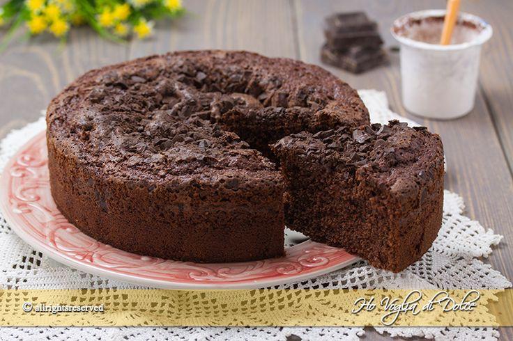 Torta+sette+vasetti+al+cioccolato