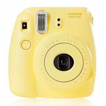 #design3000 #instaxmini #pastell Sofortbildkamera Instax Mini 8 - kleine Kamera für Sofortbilder im Checkkartenformat inkl. Trageschlaufe und Film.