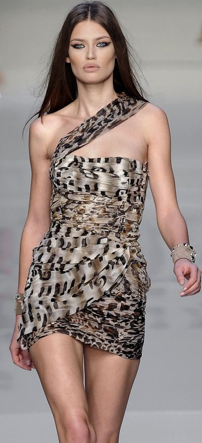 Dessa dress surreal leopard pictures