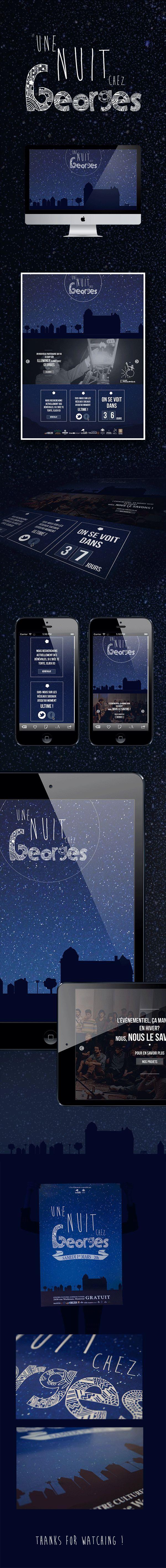 Nuit Blanche Mtl Branding & Website on Behance