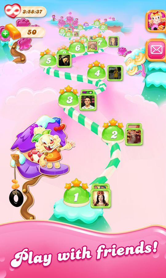 Candy Crush Jelly Saga- screenshot