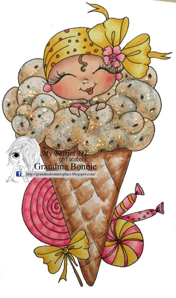 Faça o Download Digital Digi selos Olho grande cabeça grande Dolls NOVO Doces Surpresas Besties Img642 Meus Besties por Sherri Baldy