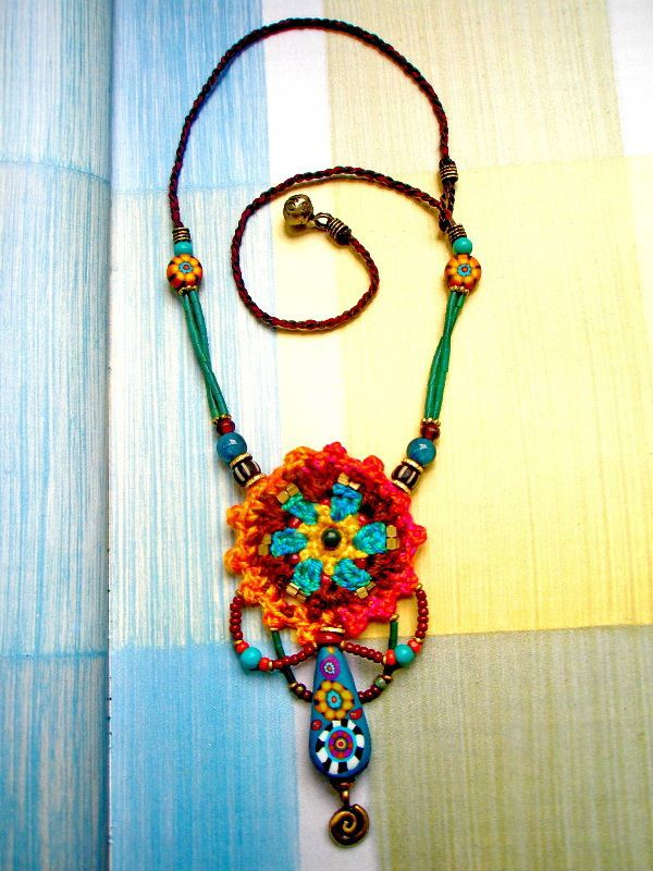 ~ Crochet Jewelry ~ | por AowDusdee