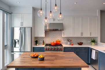 Sunset Park, Brooklyn Rowhouse - transitional - Kitchen - New York - Barker Freeman Design Office Architects pllc