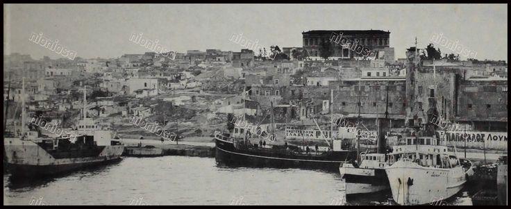 Ακτή Ξαβερίου, Πειραιάς 1955.