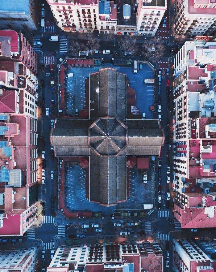 The new view from above: drone photography captures city symmetry – in pictures | Cities | The Guardian
