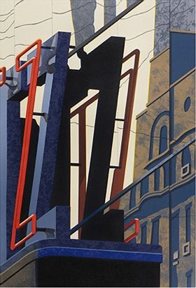 "Robert Cottingham ""Z"" My favorite painter of all time"