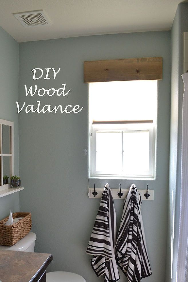 Hometalk :: DIY Simple Wooden Valance