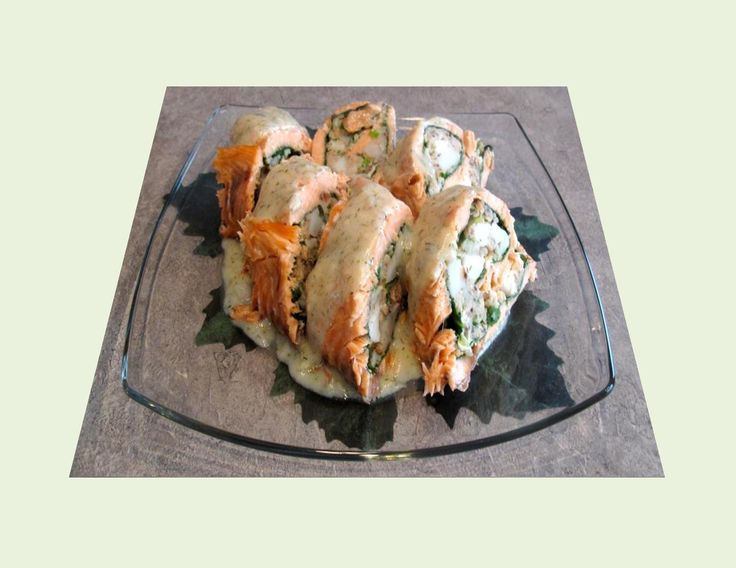 Seafood Salmon Roulade - Powered by @ultimaterecipe