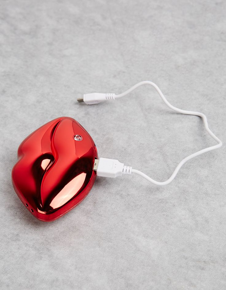 Lip mobile charger. Discover this and many more items in Bershka with new products every week
