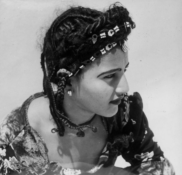 Africa | Young woman from Mauritania. ca. 1960 || Scanned ...