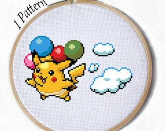 All Eeveelutions PDF 9 Cross stitch patterns by JuliefooStitches