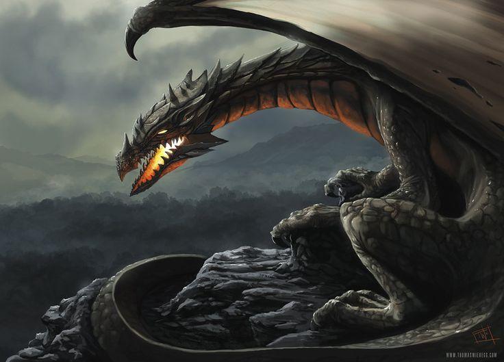 Dragon by thomaswievegg on deviantART